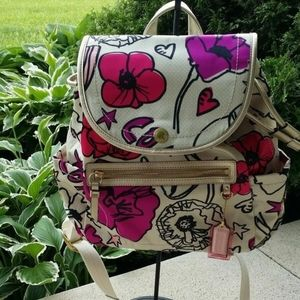 💖 COACH POPPY KYRA FLORAL BACKPACK...NWOT!
